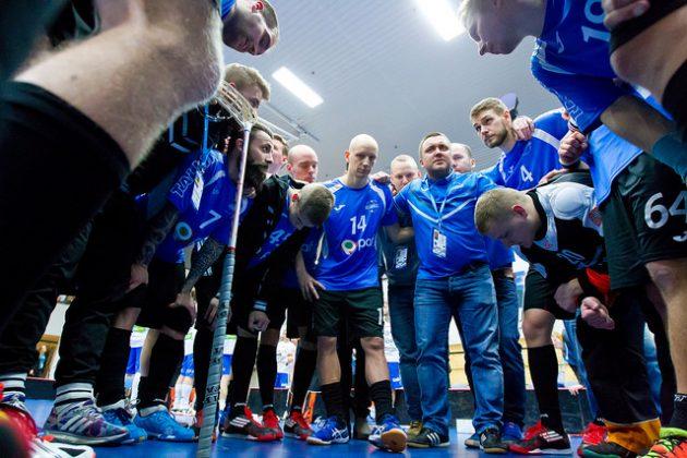 Viron tärkein koitos alkulohkovaiheessa on ottelu Saksaa vastaan. Kuva: IFF