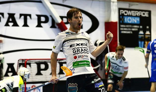 Henri Johanssonia ei pysäyttänyt Helsingissä mikään. Kuva: Juhani Järvenpää.
