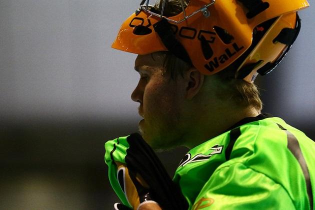 Lassi Toriseva äänestettiin miesten Salibandyliigan lokakuun parhaaksi pelaajaksi. Kuva: Juhani Järvenpää