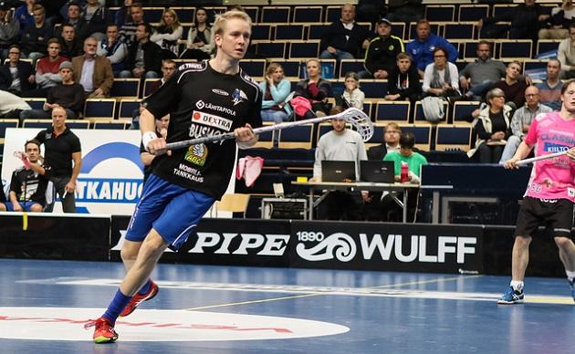 Muun muassa Mika Moilanen oli kovassa pistevireessä M-Teamia vastaan. Kuva: Mika Hilska