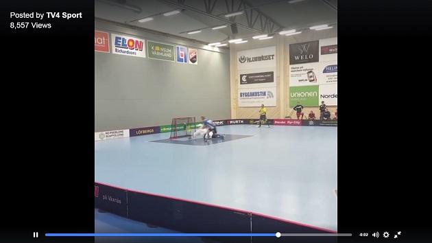 Kuva: Kuvakaappaus TV4 Sportin videolta.