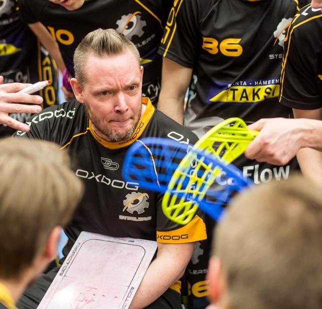 Jani Järvinen ottaa Steelersin valmennusvastuun Jani Perkonmäeltä. Kuva: Jari Turunen