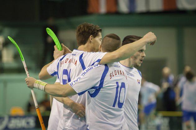 Slovakia lähtee MM-kisoihin C-lohkon ennakkosuosikkina. Kuva: IFF