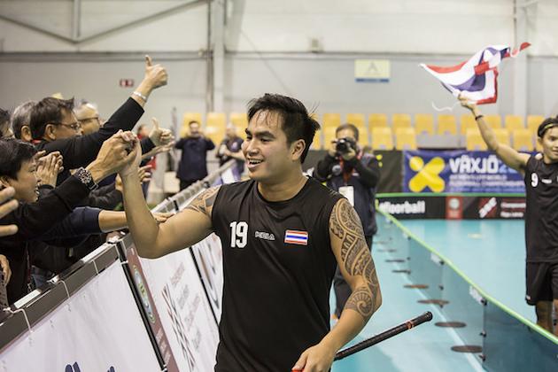 """""""Pattayan pommittajalla"""" on ollut syytä tuulettaa näissä kisoissa. Kuva: IFF."""