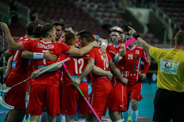Mikäli Suomi etenee välieriin, saa se vastaansa kuvan punapaitaisen Tshekin. Kuva: IFF