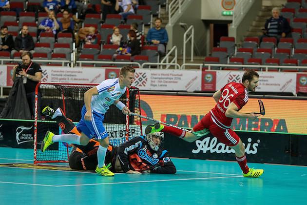 Eero Kosonen pelasi Suomen maalilla tänään mallikkaasti. Kuva: IFF.