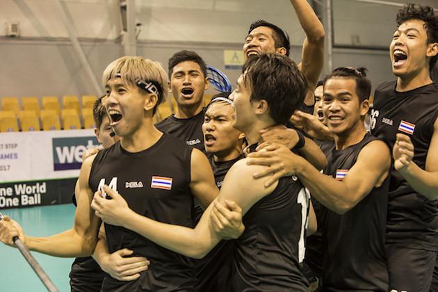 Thaimaa tuuletti tänään suurinumeroisesta voittoa Singaporesta. Kuva: IFF.