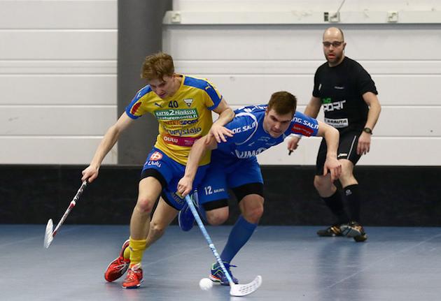 OLS ja M-Team eivät saaneet paremmuuttaan selville. Kuva: Juhani Järvenpää.