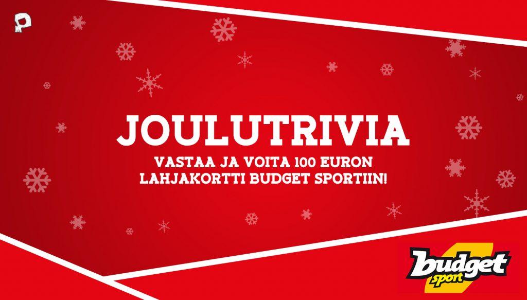 Pääkallo.fi toivottaa kaikilla lajiniiloille oikein maukasta joulua!