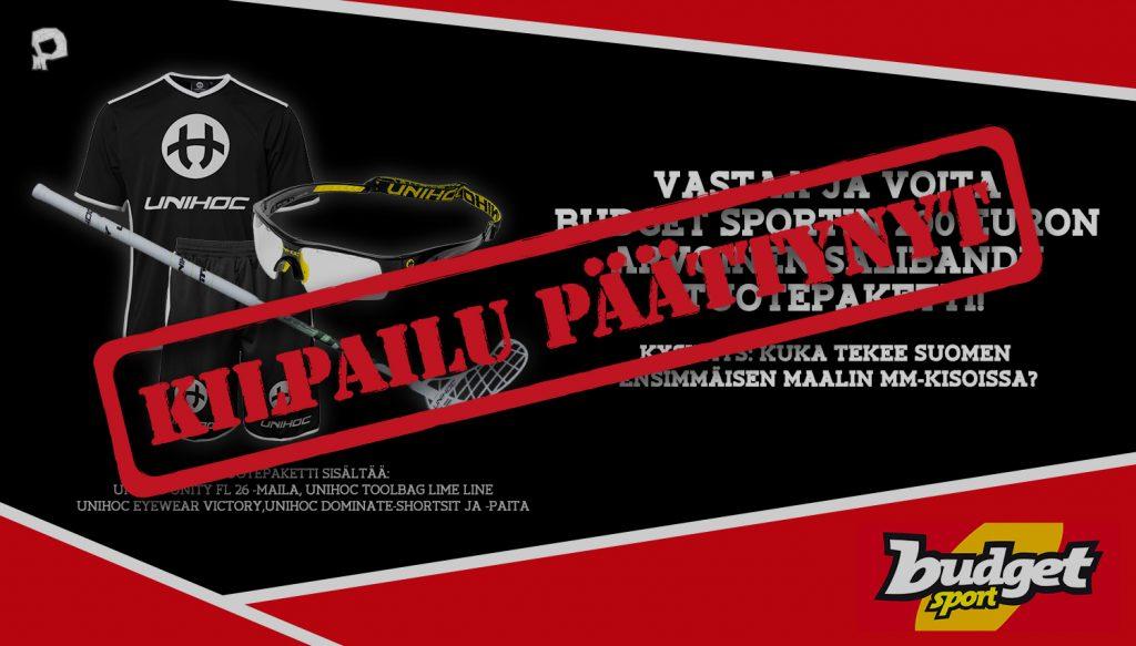 Pääkallo.fi:n ja Budget Sportin yhteiskisassa arvuuteltiin Suomen avausmaalin tekijää MM-kisoissa.