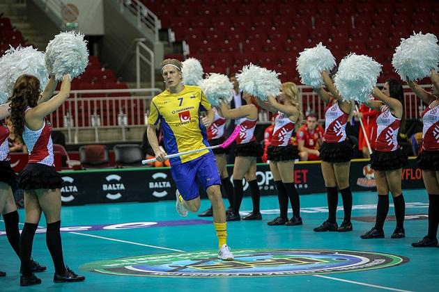 Kim Nilssonista tuli Tshekkiä vastaan Ruotsin kaikkien aikojen maalintekijä. Kuva: IFF