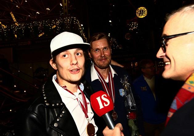 Kaksikko teki myös useita yhteishaastatteluita. Kuva: Juhani Järvenpää