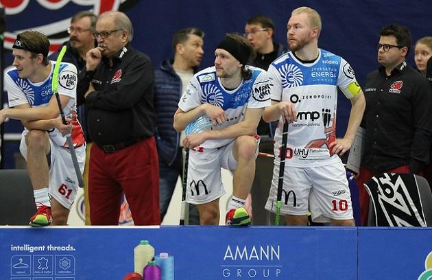 Seppo Pulkkisen luotsaama Happee kohtaa TPS:n torstaina Turussa. Kuva: Esa Takalo