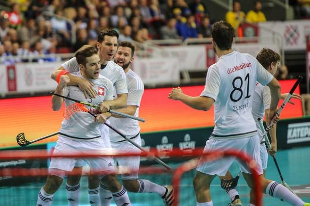 Sveitsi nappasi MM-pronssia sunnuntaina. Kuva: IFF
