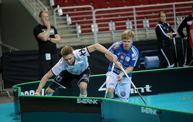 Suomen MM-taival alkoi ottelulla Saksaa vastaan. Kuva: IFF