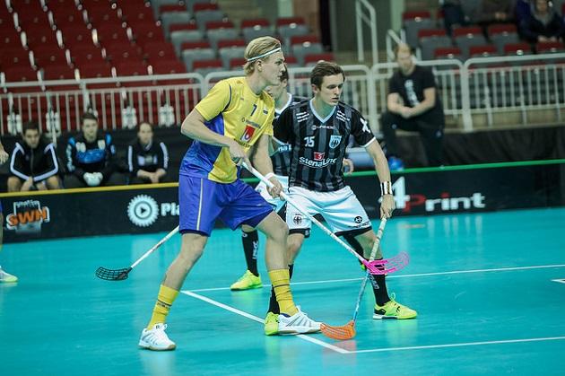 Kim Nilssonista tuli MM-turnauksen aikana kaikkien aikojen tehokkain ruotsalaispelaaja. Kuva: IFF
