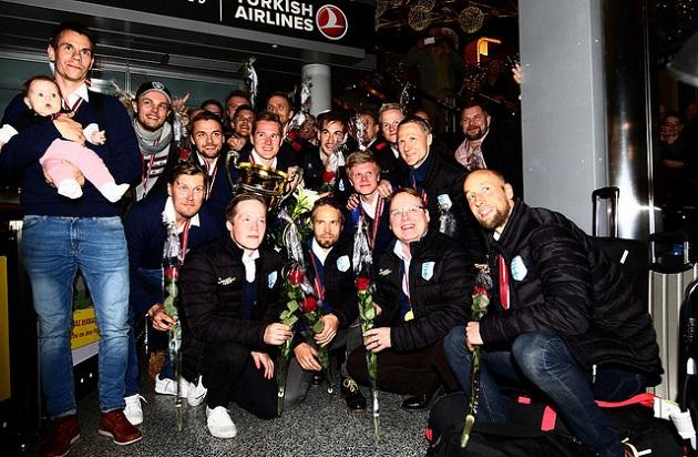MM-kisat päättyivät Suomen kultajuhliin. Kuva: Juhani Järvenpää
