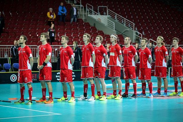 Tanska vastasi salibandyn MM-kisojen suurimmasta yllätyksestä. Kuva: IFF