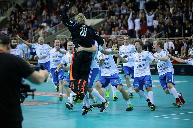 Suomi voitti joulukuussa kolmannen MM-kultansa. Kuva: IFF.