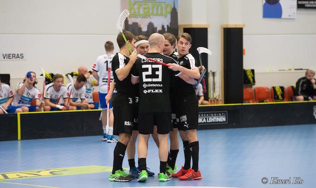 TPS oli tyly vieras Raumalla sunnuntaina. Kuva: Elmeri Elo.