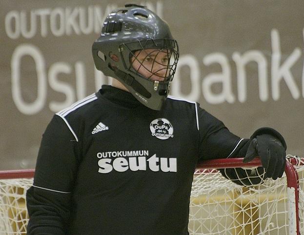 Joni Naumanen onnistui maalinteossa viime sunnuntaina. Kuva kaudelta 2013-2014, jolloin hän edusti OuPaa isoveljensä kanssa. Kuva: Marko Kaasinen