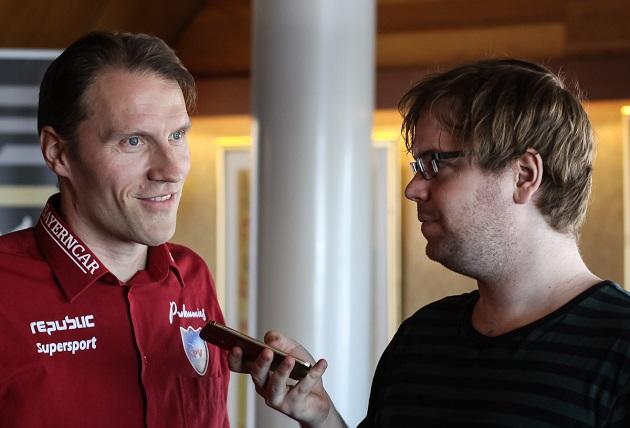 Joel Siltanen (oik.) on Pääkallo.fi:n uusi vastaava päätoimittaja. Kuva: Mika Hilska